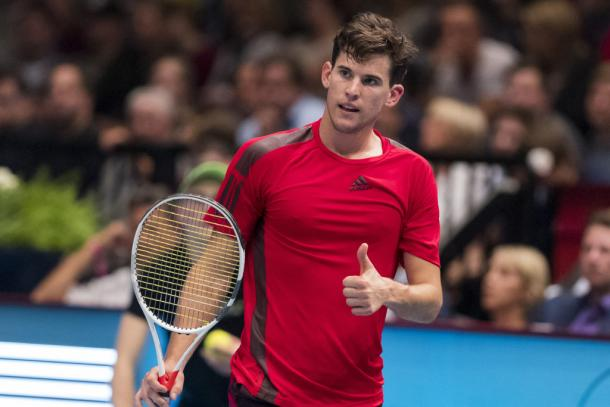 Dominic Thiem headlines in his home country this week. Photo Erste Bank Open