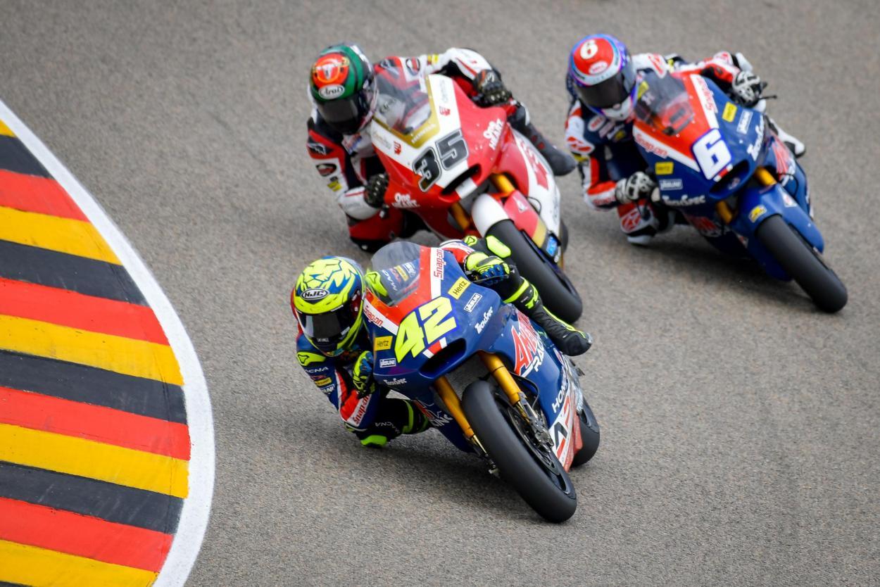 Marcos Ramírez en la carrera del GP de Alemania 2021 (9º) | FOTO: motogp.com