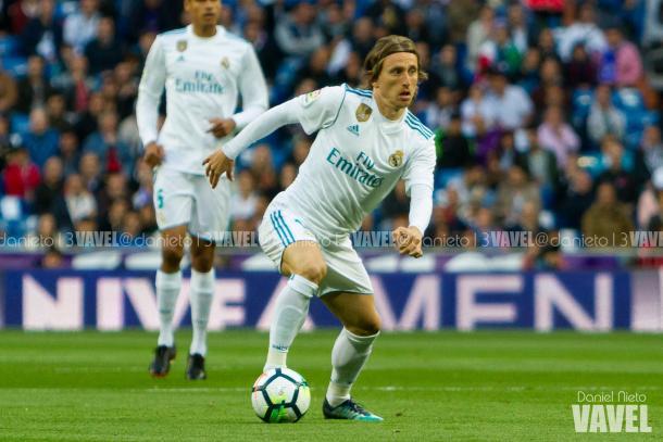 Luka Modric durante un partido I Foto: Daniel Nieto (VAVEL)