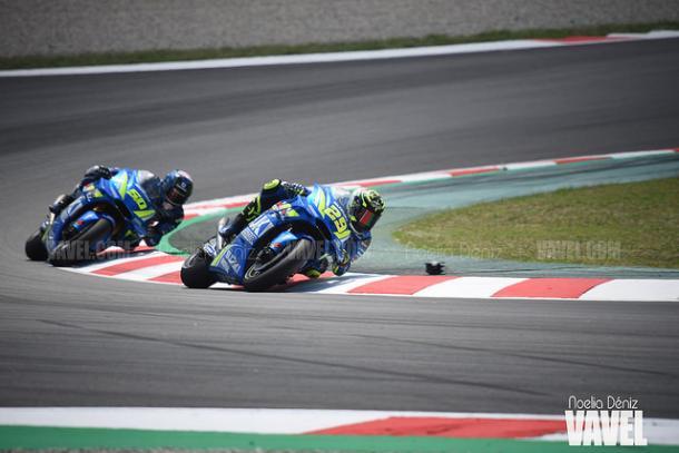 Andrea Iannone durante el Gran Premio de Catalunya. | Foto: Noelia Déniz VAVEL