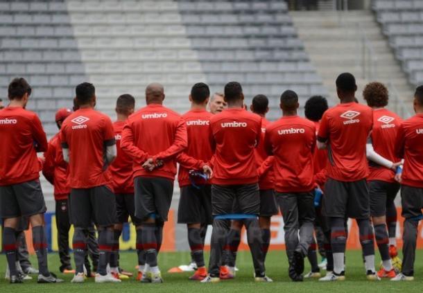 Furacão aposta no fator casa para manter bom momento (Foto: Marco Oliveira/Atlético-PR)