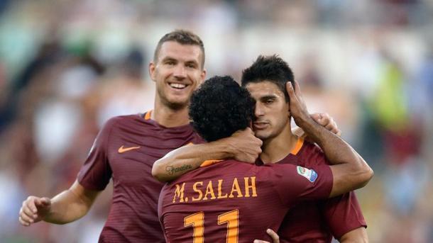 Perotti, Salah e Dzeko. Fonte foto: lastampa.it