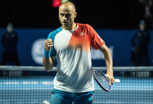 Marius Copil shocked the world with his run to the Basel final. Photo: TF Images/Getty Images