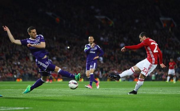 La rete del vantaggio dello United | The Guardian