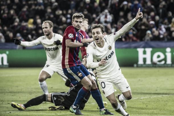 Bernardo Silva logró el empate en los últimos momentos. Foto: (asmonaco.com)