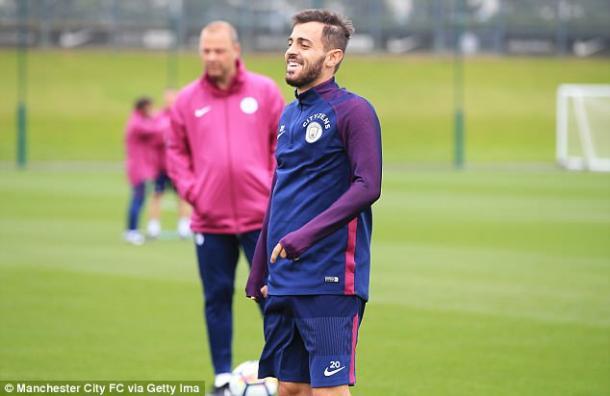 Bernardo Silva podría hacer su debut en la Premier League ante Brighton | Foto: Getty