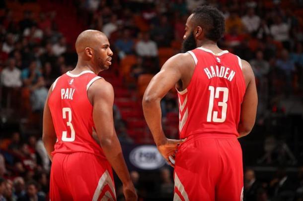 Los Rockets no podrán contar con su principal dupla | Foto: James Harden