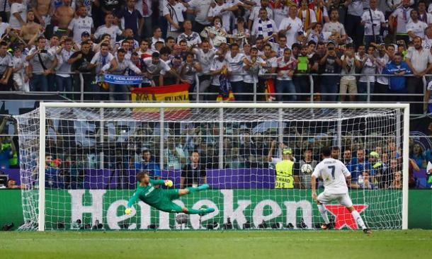 Ronaldo wins UCL for Real. Photo: The Guardian