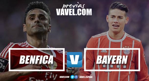 James conduce al Bayern en su triunfo ante Benfica por UCL