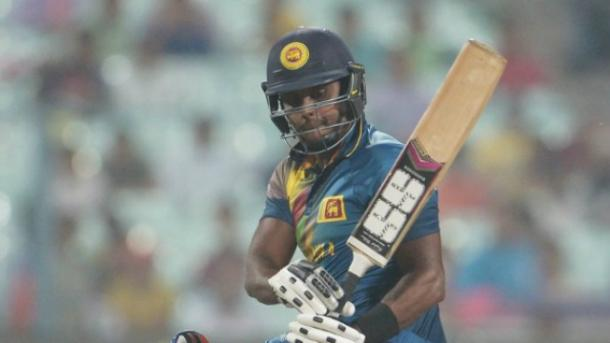 Mathews Showed All His Skills to get to 73*
