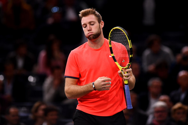 Jack Sock saw his title defense end in the quarterfinals, costing him significant ranking points. Photo: Justin Setterfield/Getty Images