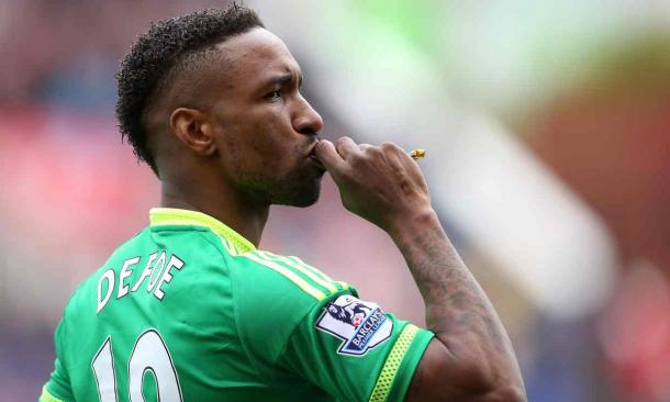 Defoe's penalty secured a crucial point for the Black Cats (Photo: James Baylis: Getty Images)