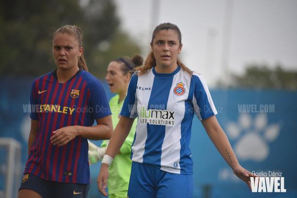 Martens en el último derbi de 2018 | Foto: Noelia Déniz (VAVEL)