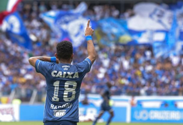 Rafinha é artilheiro do Cruzeiro na temporada, com 5 gols (Foto:Washington Alves/Light Press/Cruzeiro)