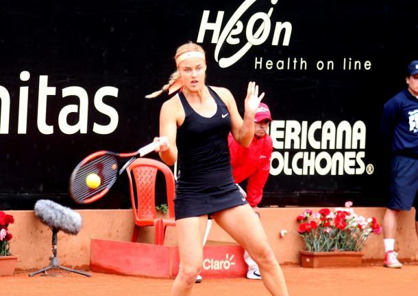 Anna Karolina Schmiedlova looked highly impressive today, sealing a spot in the main draw of Roland Garros | Photo: Copa Colsanitas