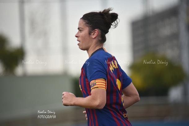 Marta Torrejón habló de la unión del equipo y el cuerpo técnico   Foto: Noelia Déniz (VAVEL)