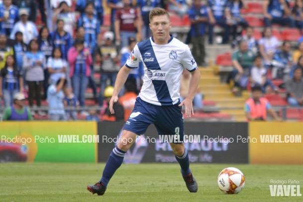 Alejandro Chumacero durante el partido ante Querétaro I Foto: Rodrigo Peña (VAVEL)
