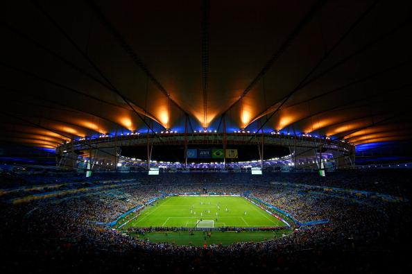 Estádio do Maracanã, o palco do jogo Vasco x Botafogo ao vivo (Foto: Clive Rose/Getty Images)