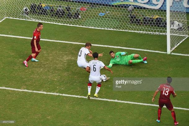 Rui Patrício foi o eleito para defender as redes das quinas no Mundial de 2014