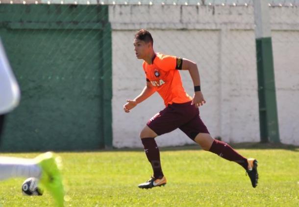 Halter será uma das opções do técnico Marcão (Foto: Fabio Wosniak / Site Oficial)