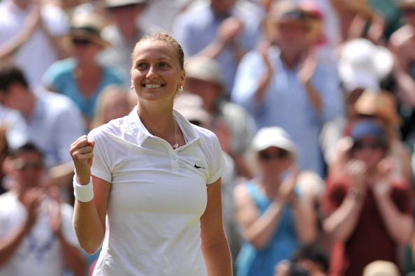 Kvitova is making her first appearance in Birmingham since 2008. Photo credit: Glyn Kirk/Getty Images.