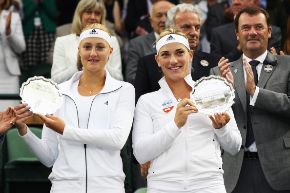 Mladenovic has tasted success at WImbledon before albeit with a different partner | Photo: Jan Kruger/Getty Images