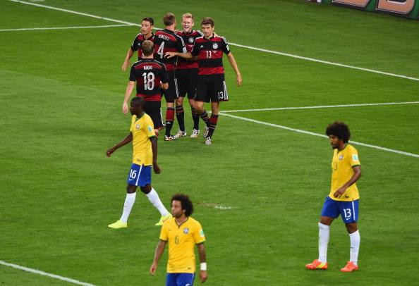 Alemanha passeou no Mineirão (Foto: Jamie McDonald/Getty Images)