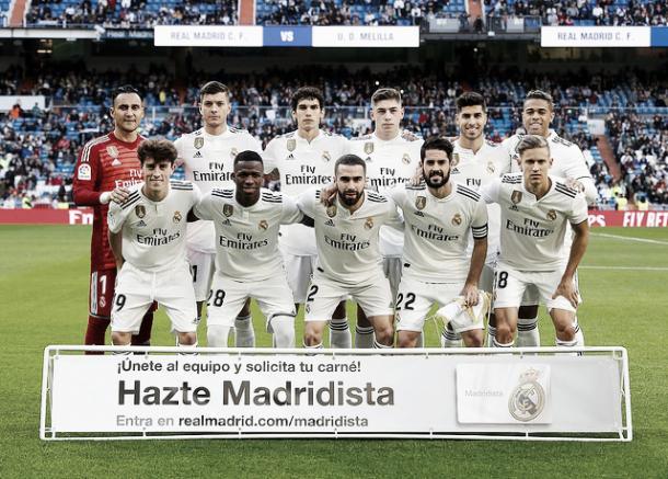 La rotación de Solari, clave en la aparición de Vinicius   Foto: Real Madrid CF