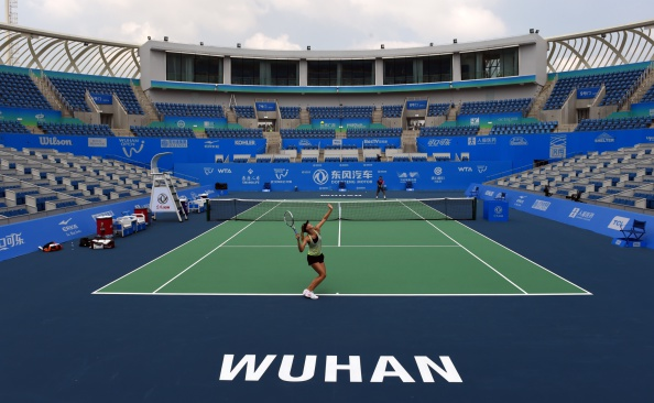 The centre court at Wuhan Open | Photo: Matthew Greg/Getty Images