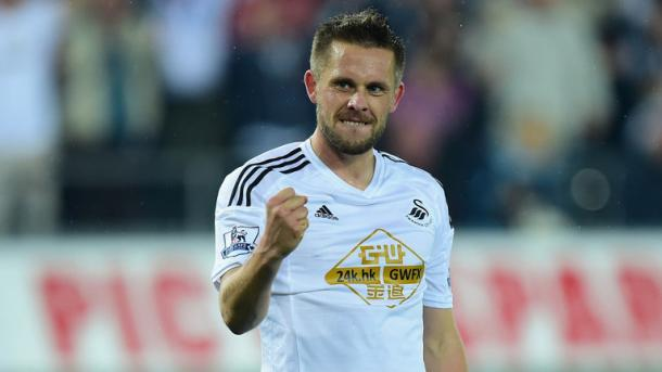 Sigurdsson scored 11 goals last term for The Swans (photo:skysports)