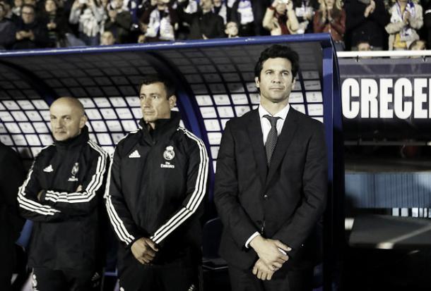 Primer partido interino de Solari | Foto: Real Madrid C.F.