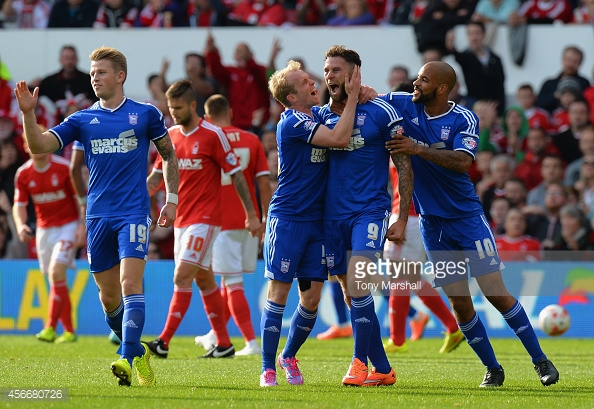 Murphy scored 27 goals for Ipswich in the 2014/15 season. (picture: Getty Images / Tony Marshall)