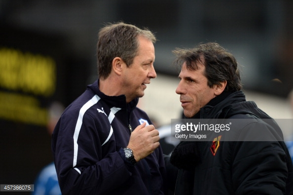 Is Zola on his way back to the Championship? Photo: Getty