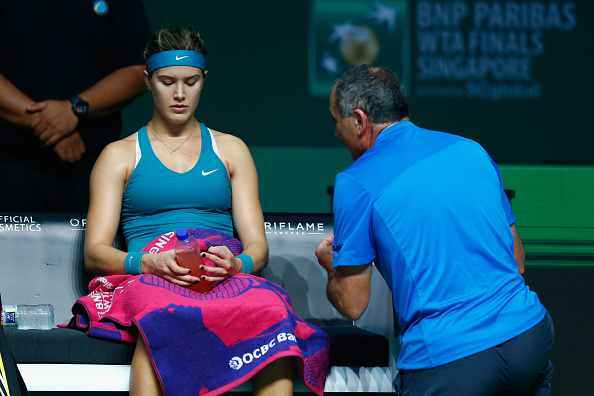 Saviano coached Bouchard between 2006 and 2014 (photo:getty)