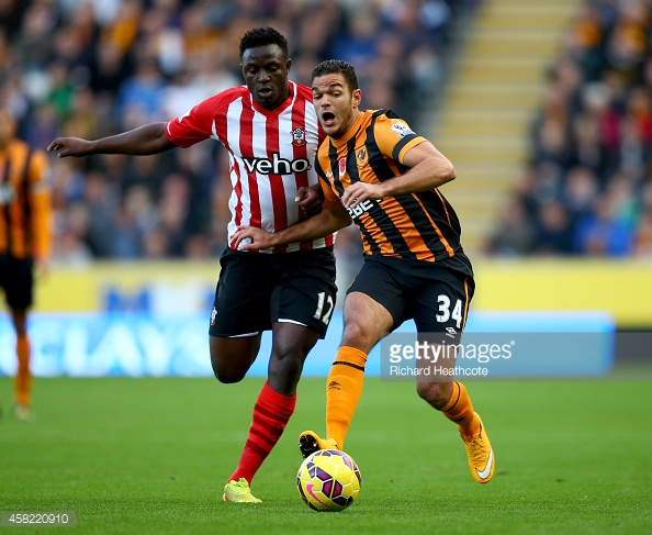 Ben Arfa didn't enjoy success whilst at Hull City. Photo: Getty