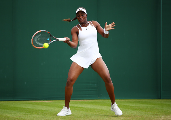 Stephens squeaked out the third set in much the same fashion as she did against Minella in New York in 2013/Photo Source: Clive Brunskill/Getty Images