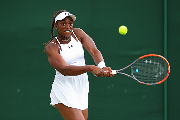 Stephens saved match point and edged out the second set in a tiebreak/Photo Source: Clive Brunskill/Getty Images