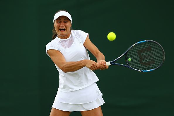 Niculescu gets herself back into the match after being 0-2 down | Photo: Julian Finney/Getty Images