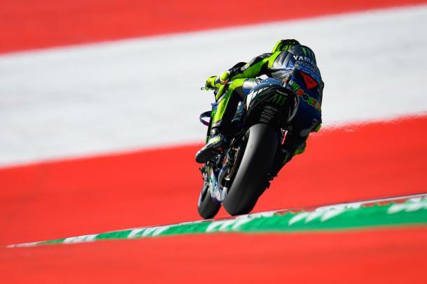 Valentino Rossi, en el Red Bull Ring. Imagen: MotoGP