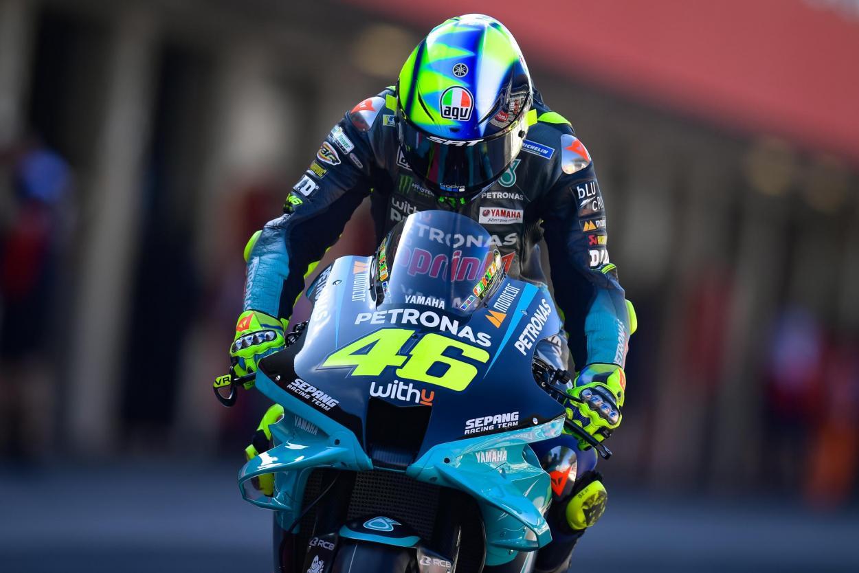 Valentino Rossi empezó en Qatar su vigésimosexta temporada. Imagen: MotoGP
