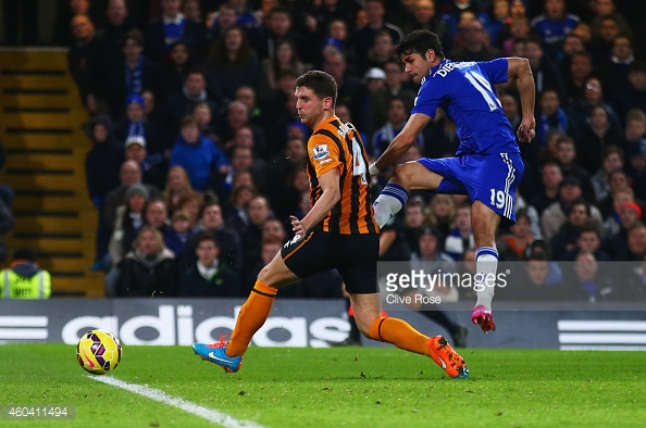 The central defender against Diego Costa (photo: Getty Images)