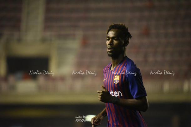 Merveil en su debut contra la UB Conquense. Foto: Noelia Déniz, VAVEL
