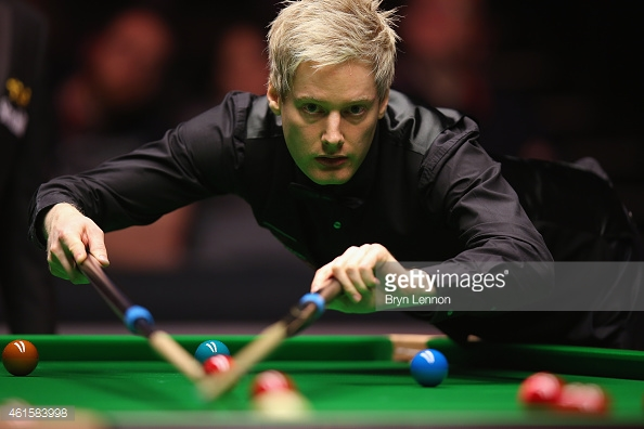 Robertson showed his quality after struggling against Ricky Walden in the opening round (photo: Getty Images)