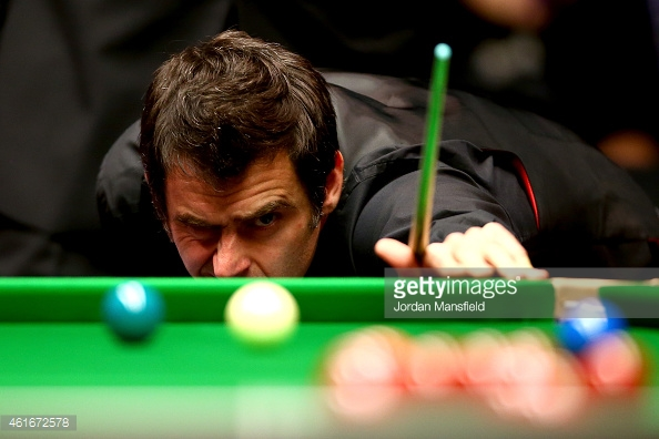 O'Sullivan could not eye the route to glory (photo: Getty Images)