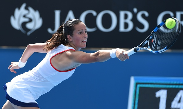 Arruabarrena at the 2015 Australian Open. Photo credit: Mal Fairclough/Getty Images.