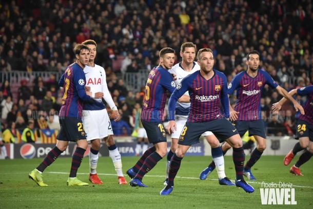 Barcelona y Tottenham ya se encontraron en la temporada anterior | Foto: Noelia Déniz - VAVEL