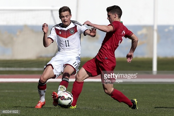 Vinagre has featured for Portugal at youth level. (picture: Getty Images)