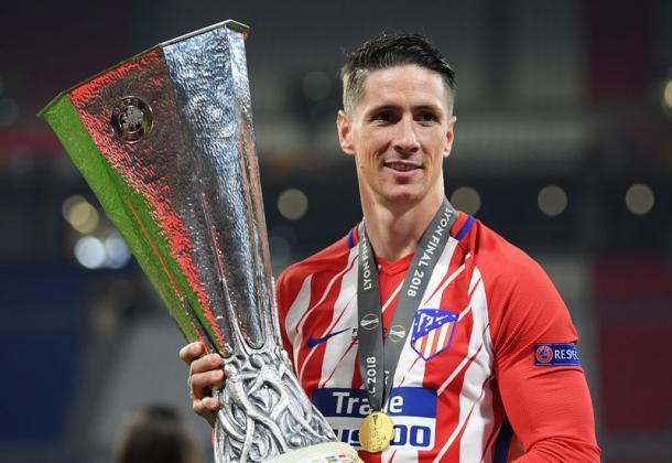 Fernando Torres celebrando la victoria de la Europa League. / Fuente: Flickr VAVEL España