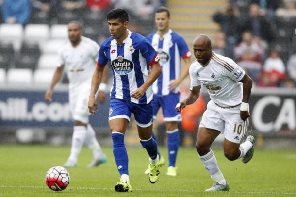 The winger has spent the last two seasons on loan with Deportivo (Photo: Getty Images)