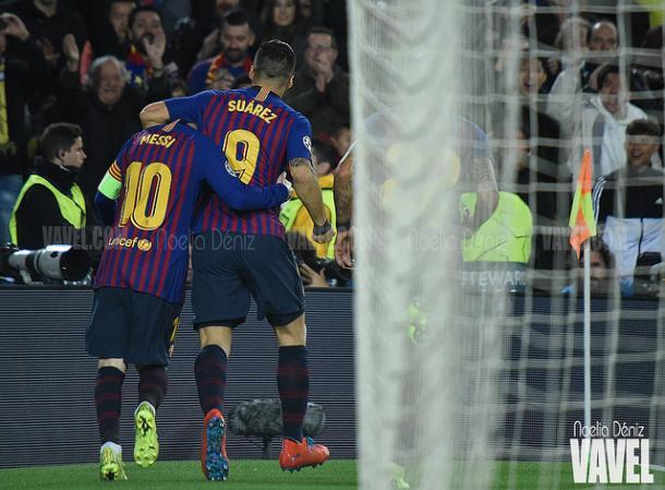 Luis Suárez y Leo Messi podrían descansar. FOTO: Noelia Déniz